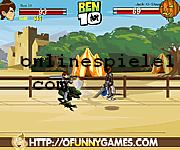 Ben10 at the Colosseum Ben 10 online spiele